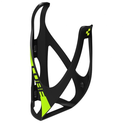 CUBE Bottle Cage HPP - matt black´n´classic green