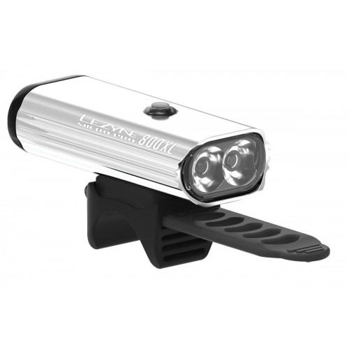 Lezyne Micro PRO 800XL silver