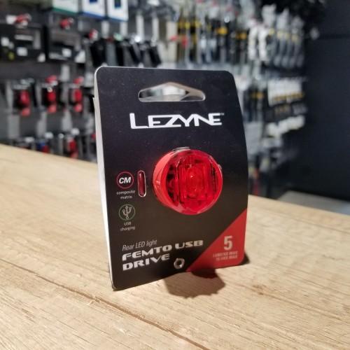 Lezyne FEMTO USB DRIVE red